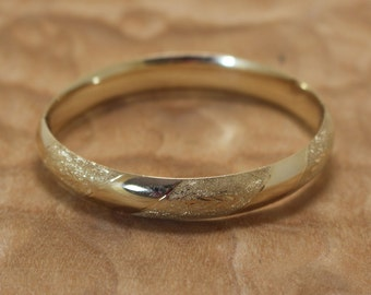Vintage 14K Gold Bracelet Expandable Bangle