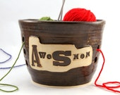 AwesMom - For Awesome Moms only- Huge Yarn Bowl - Ready to Ship