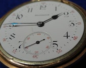 Good Looking E. Howard 16 Size 17 Jewels Series 7 Pocket Watch