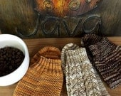 KNITTING PATTERN-Cappuccino, Sock Pattern