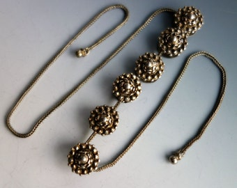 Superb Silver Gold Victorian Buttons India