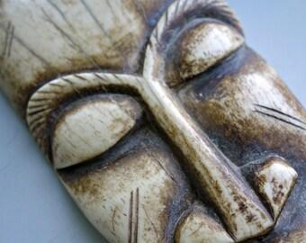 Carved Bone Mask