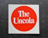 Vintage 70s The Uncola 7UP Advertising Sticker