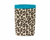Car Trash Bag LEOPARD PRINT, Men, Women, Car Litter Bag, Auto Accessories, Car Organizer