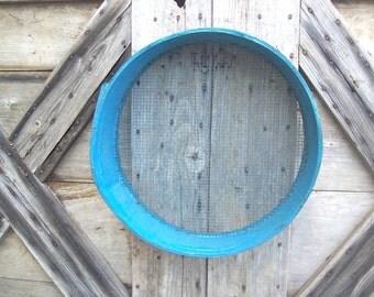 Vintage Sieve Rustic Farmhouse Decor Wood Sifter