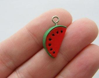 BULK 20 Watermelon charms resin FD261