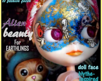 Custom Blythe Dolls For Sale by Blythe ooak custom art doll