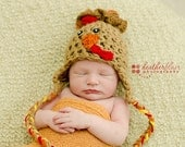 Baby Boy hat, baby girl hat, crochet turkey hat, turkey, photo prop, first thanksgiving, baby shower gift, coming home outfit, crochet baby