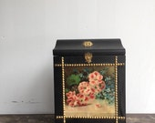 Victorian stereo viewer card holder /storage box