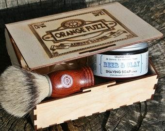Orange Fuzz Shave Basics Box