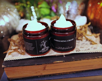 Embalming Cream, Body Butter, Moisturizer, Lotion, Poison Apple Apothecary, Fragrance