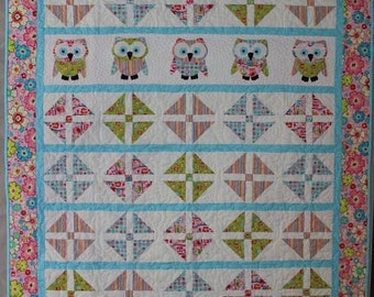 Owl Parade Quilt Pattern