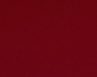 Burgundy - 100% Pure New Wool Felt