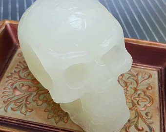 Skull Soap - Goth Soap - Goth Bath - Choose Your Scent - Gothic Soap
