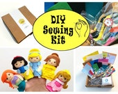 DIY Kit: Princess Felt Finger Puppets