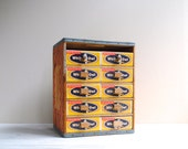 Vintage Cigar Box Chest of Drawers