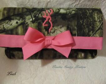 Mossy oak camo wallet mossy oak pink buck deer camo fabric large wallet 6 pockets