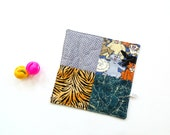 Organic catnip toy, quilted blanket, cat toy, cat bedding, cat pillow, cat gift under 15