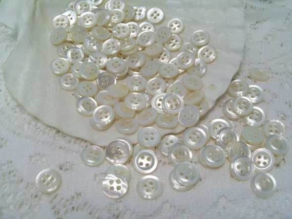 720 Mother of Pearl Buttons