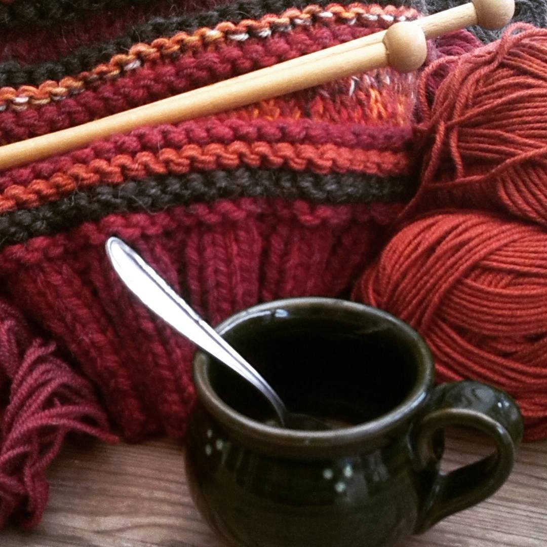 coffee & knitting