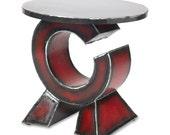 Orbit Side Table Metal End Table