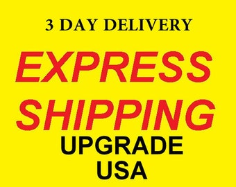 Upgrade to Express Shipping for International Orders - USA