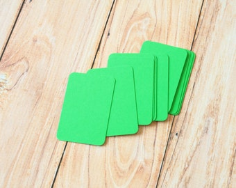 50pc Spring GREEN Eco Series Business Card Blanks
