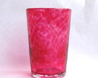 Peony Pink Juice Glass