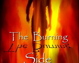Novel - The Burning Side by Jacqueline Richardson - Fiction/Paranormal Thriller