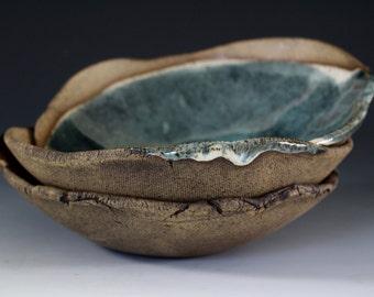Stoneware Bowls in Sage