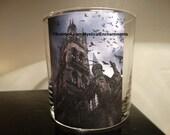 Halloween Haunted House votive-tea light candle holder