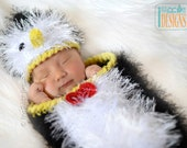CROCHET PATTERN - Happy Penguin Baby Set PDF Crochet Pattern with Instant Download