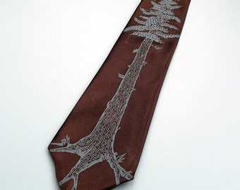 Men's Necktie - Redwood Tie - Premium Quality Microber Tie - Gift Wrapped - Choose color and quantity