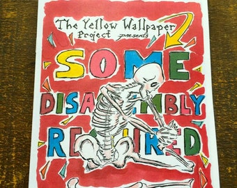 Some Disassembly Req'd - Women's Feminist Zine, The Yellow Wallpaper Project (Vol. 1, No. 3)
