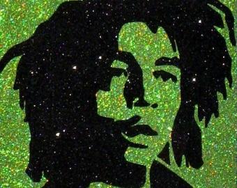 Bob Marley Inspired Reggae Wall Art • Rasta Home Decor • 1970s Jamaican Hippie Gift (CLEARANCE)