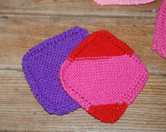Knitted Dishcloth Scrubber