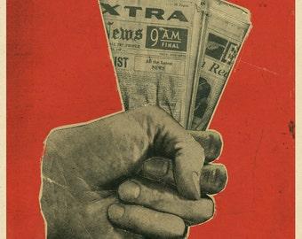 """Propaganda Print 12"""" x 16"""" Matte"""