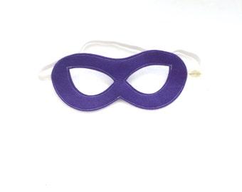 SuperHero MASK  birthday gift-  Match your Pip and Bean Custom Super Hero Cape ready to ship