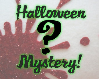 SALE - SALE Halloween Mystery Box of Janine Basil Hair Accessories - Christmas In July CIJ