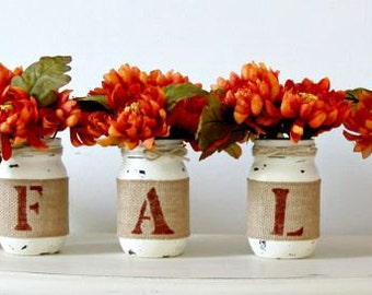 Rustic Fall Home Decor,Rustic Fall Table Decor,Thanksgiving Centerpieces,Gift For Her.Farmhouse Fall Home Decorations,Housewarming Gift