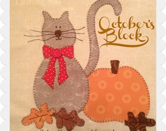 My Favorite Things Quilt Doodle Designs September's Block 2015