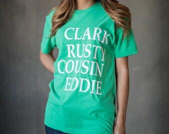 Christmas Vacation Shirt Clark Rusty and Cousin Eddie Holiday Shirt Christmas tee