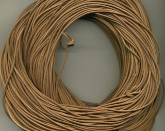 Greek Leather Cord 1.8 mm 10 Meter Pack-Natural