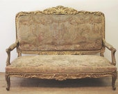 French Gilt Settee