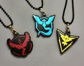 Pokemon Go - Valor, Mystic, or Instinct Pendant