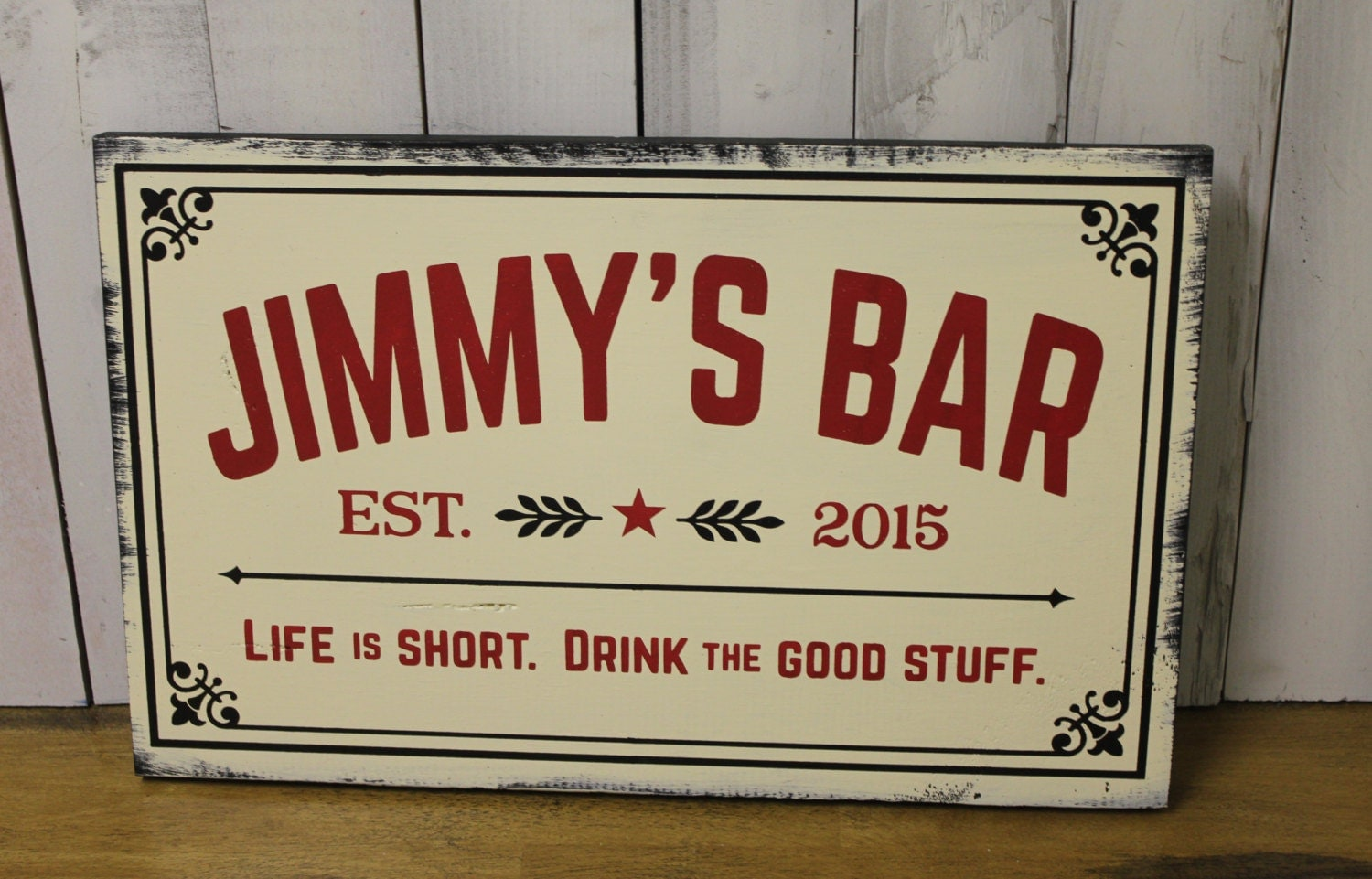 Custom Man Cave Signs Canada : Personalized bar sign man cave christmas gift you choose