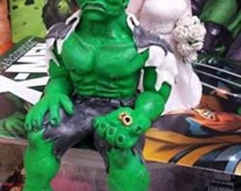 Bespoke Handmade Personalized Wedding Cake Toppers- Super Hero- Sci Fi- Fantasy- Horror