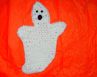 Ghost Halloween Decoration Or Drink  Coasters  Set of 4