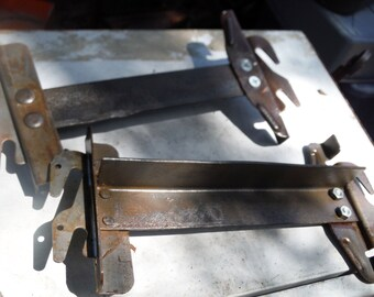 Antique Unique  Hook Type Rails For Displaying Head Or Foot Boards