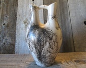 Wind River Horse Hair Pottery Wedding Vase  - Made in Wyoming